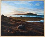 Borve Hill at Sunset